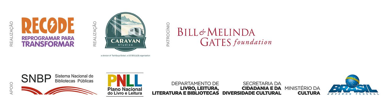 Logos Apoio Conecta Biblioteca