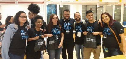 Jovem programadora da Cidade de Deus representa o Brasil no evento Call for Code, da IBM