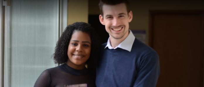 Do Reino Unido ao Brasil, um voluntário que faz a diferença