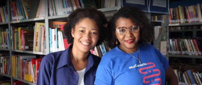 Conheça a jovem que saiu de área rural do Pará e se tornou embaixadora de biblioteca