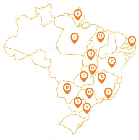 mapa recode brasil cineastas