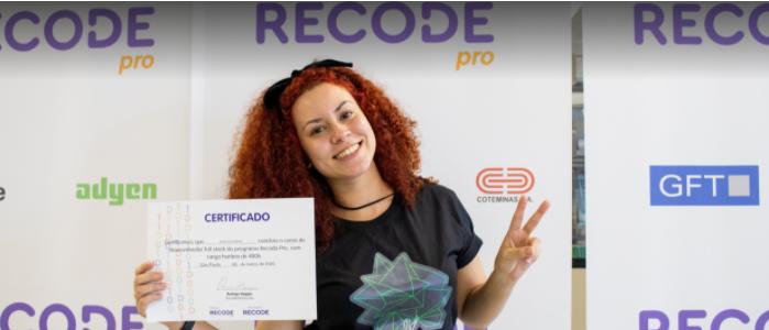 Bruna Moura quer mudar o mundo com a tecnologia