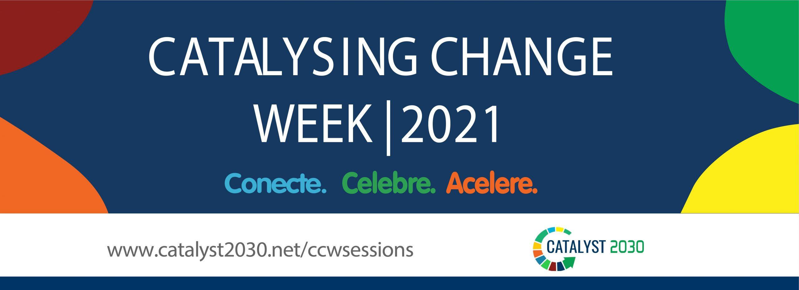 Recode participa do 'Catalysing Change Week' com sessão sobre empoderamento digital