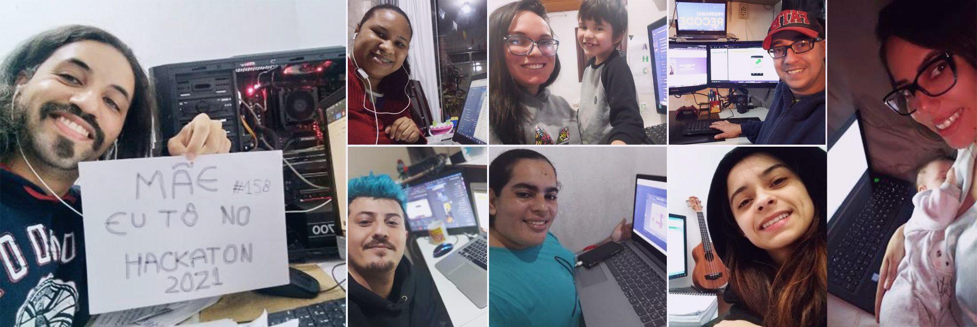 Mais de 1.300 pessoas participam do Hackathon Recode Pro 2021 em três dias de atividades